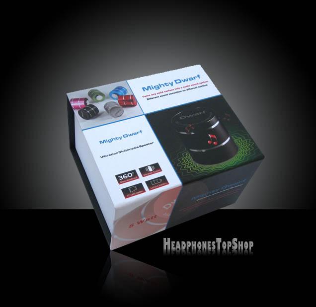 Mighty Dwarf Portable Vibrating Speaker Box View