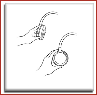 Philips O'Neill 'The Snug' Earphones - Folds flat