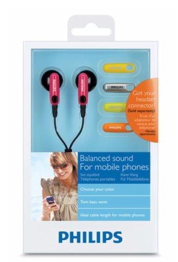 Philips SHH2618 In-Ear Headphones - Box