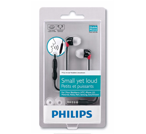 Philips SHH3580 Headphones Box View